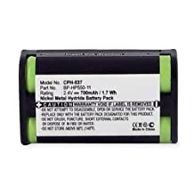 2 Pack Sony MDR-925RK Battery - Replacement for Sony BP-HP550-11 Headphone Battery (700mAh, 2.4V, NI-MH)