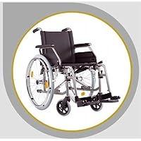 Bischoff Rollstuhl S Eco 2 Faltrollstuhl Reiserollstuhl Transportrollstuhl - Sitzbreite 46 cm
