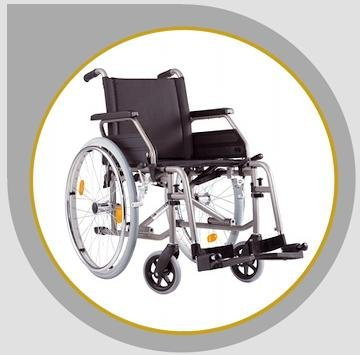 Rollstuhl S-Eco 2 von Bischoff + Bischoff Faltrollstuhl Reiserollstuhl Transportrollstuhl - Sitzbreiten 37cm, 40cm, 43cm, 46cm oder 49 cm lieferbar !