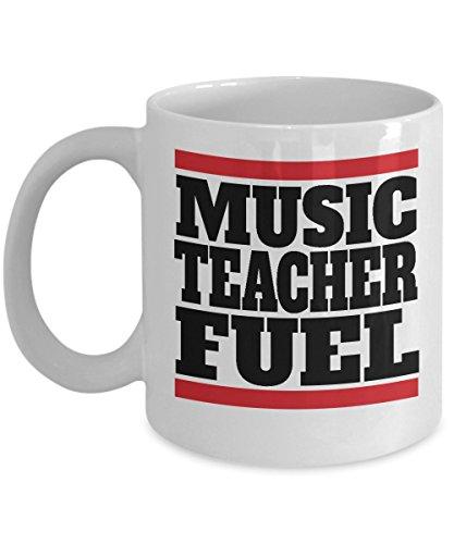 Music Teacher Fuel Coffee & Tea Mug Gift Ideas Supplies