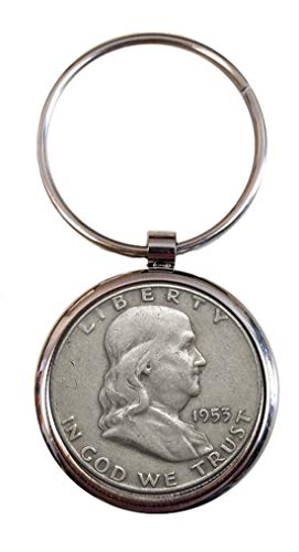 Benjamin Franklin Half Dollar Key Chain ()