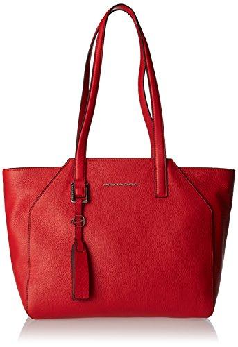 Piquadro Bd4324mu, Sac fourre-tout pour femme, 14x27x32 cm (W x H L) Rouge