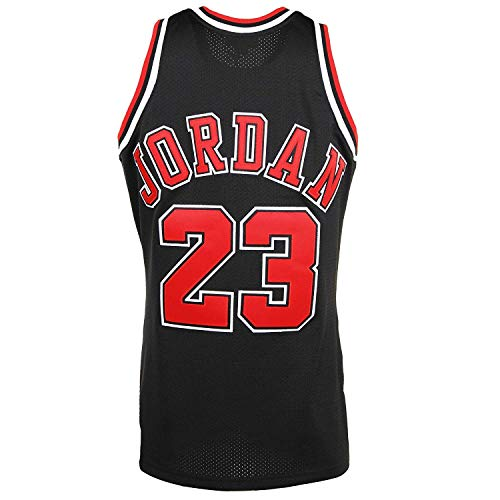 Men_Michael_Jordan_Black_-_Hardwood_Classics_Authentic_Jersey (Jordan Jersey Authentic)
