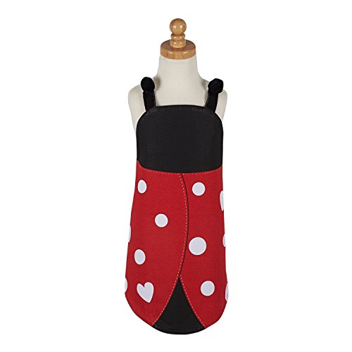 Lady Bug Print Red and Black Children's (Ladybug Apron)