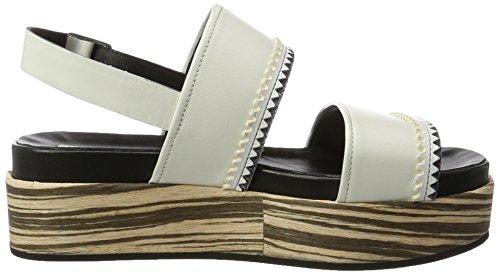 Alberto Fermani Damen Shige Offene Sandalen Weiß (Bianco)