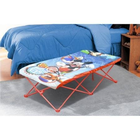 Durable Disney Mickey Mouse Portable Travel Bed by Disney by Disney