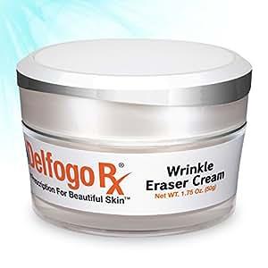 Multipeptide Wrinkle Cream | Delfogo Rx Wrinkle Eraser with Medical Grade Argireline & Leuphasyl | High Concentration of Eyeliss & Matrixyl 3000