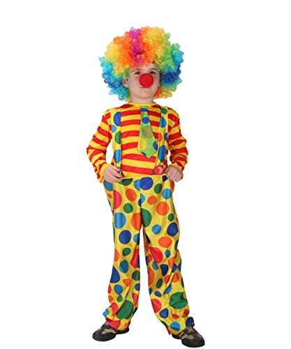 Children's Scary Clown Costumes - DoLoveY Halloween Fancy Child Hoopy The
