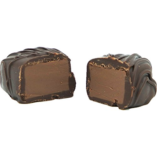 Philadelphia Candies Amaretto Meltaway Truffles, Dark Chocolate 1 pound Gift Box