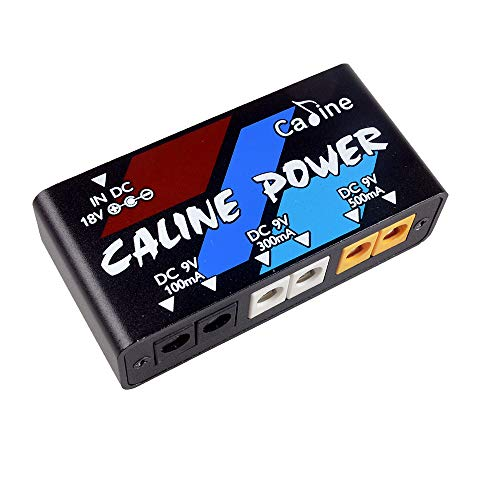 Caline Guitar Pedal Power Supply 6 Output 100MA 300MA 500MA Effect Pedals with Short Circuit Overcurrent Protection ()