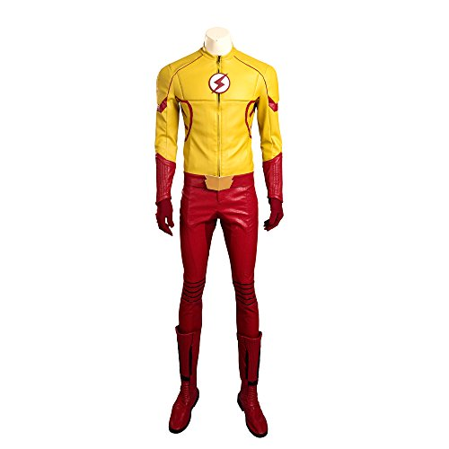 The flash adult costume custom you