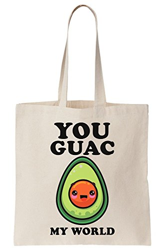 You Bag Tote Guac Canvas My World A8RqAw