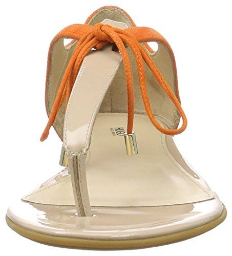 HUGO Felicity 10195652 01, Sandalias con Cuña Para Mujer Beige (Light Beige 271)