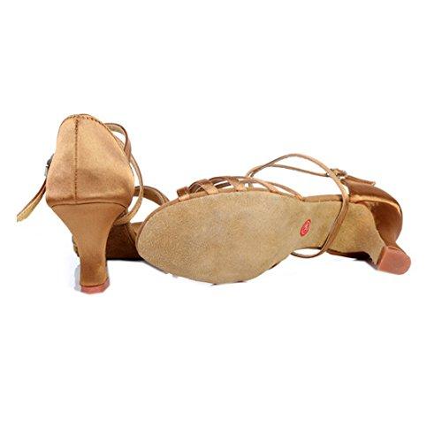 Partiss Femmes Chaussures De Danse Latine Kaki