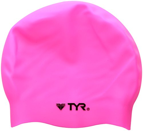 tyr-wrinkle-free-silicone-swim-cap-fluorescent-pink