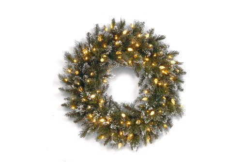 led wreath outdoor - 3
