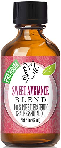 Sweet Ambiance Blend 100% Pure, Best Therapeutic Grade Essen