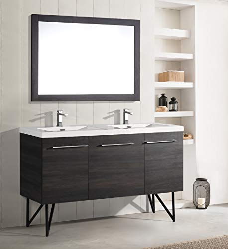 Vanity Madison Bathroom - Swiss Madison Annecy Two Door, Bathroom Vanity (60