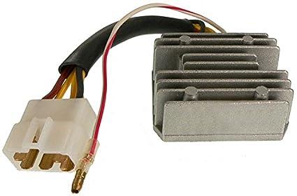 amazon com db electrical aki6025 voltage regulator for kawasaki 1978 kawasaki 750 wiring diagram db electrical aki6025 voltage regulator for kawasaki motorcycle kz550 ltd 80 83 gpz 1981 kz650
