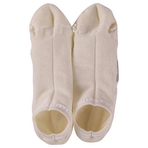 Running Socks Men, ZEALWOOD Low Cut Cushion Single Tab Running Socks,Best Christmas Gifts 3 Pairs-White by ZEALWOOD (Image #8)