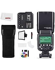 Godox TT685F Camera Strobe Flash Light 2.4G HSS TTL GN60 Flash Speedlite High Speed 1/8000S 2.4G voor Fujifilm Fuji Camera Flash (TT685-F+X2T-F)