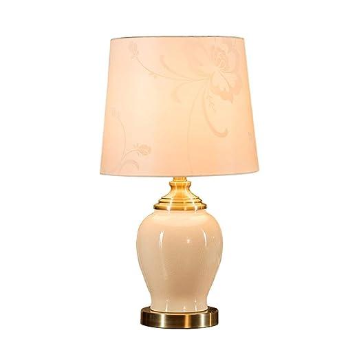 Dormitorio lámpara de Mesa, persiana Cerámica grieta Textura ...