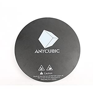 Anycubic 200mm Adhesive 3D Printing Build Surface High Temperature Resistant Sticker for Delta Kossel 3D Printer Glass Plate from Anycubic