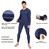 Ginasy Thermal Underwear for Men Soft Long Johns