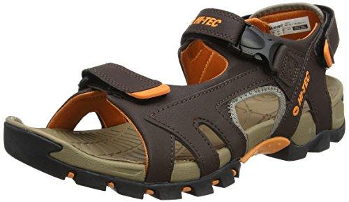 Hi Marron de Marron Zamoro Orange Burnt Tec Brown Randonnée Homme Ultra Sandales fUrOB1nfq