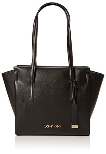 Shopper Black Tote Calvin Women's Jeans Klein Medium Frame q0qXSTwP