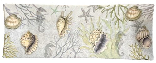 Sea Treasures Melamine Tray Beach Design (Keller Shell)