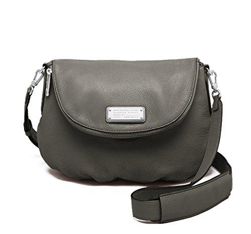Marc by Marc Jacobs New Q Natasha Cross-Body Bag (Faded Aluminum/Silver)
