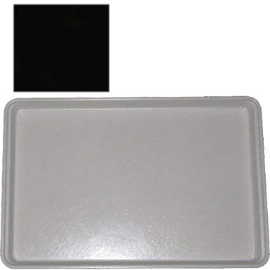 "MFG Tray Display Tray Fiberglass 12/"" x 18/"" Black 334007 1669"