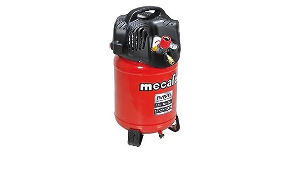 MECAFER Compresseur dair vertical 24L 1,5HP Twenty: Amazon.es: Bricolaje y herramientas