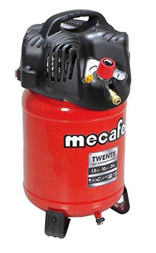 MECAFER Compresseur dair vertical 24L 1,5HP Twenty