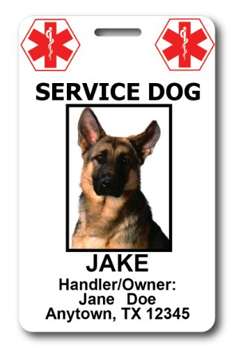 Custom Service Dog ID Cards (Custom Service Dog Id Card compare prices)