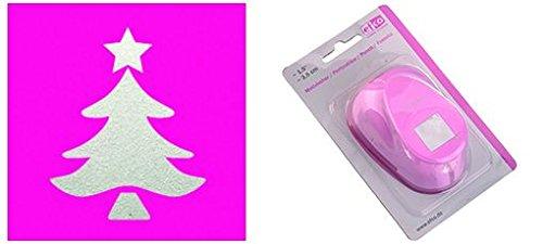 7101132 Efco –  á rbol de Navidad Punch, Rosa, Grande, 36 x 27 mm 36x 27mm 1793137
