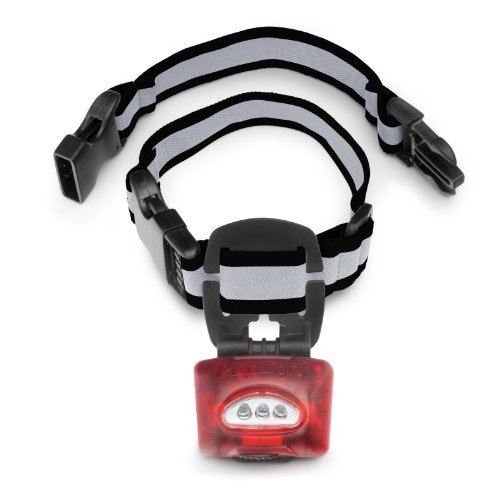PupLight2 Twice as Bright with Reflective Dog Safety Collar, ()