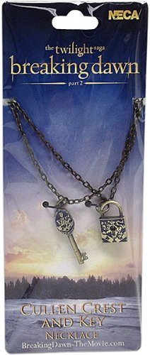 Twilight Breaking Dawn Part 2 Key and Lock Necklace Set - Cullen (Breaking Dawn Necklace)
