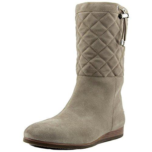Michael Kors Lizzie Quilted Cold Weather Suede mid Womens Boots Dark Dune Dark Dune z7w7OBKQe
