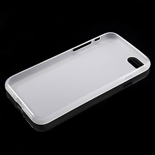 Apple iPhone 7 Sac étui Cover Case de protection TPU/öko- Blanc decui Blanc TPU Gel Gel Coque