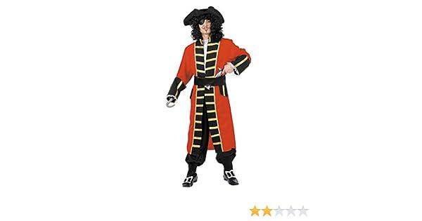 DISBACANAL Disfraces Capitán Garfio para Adulto - -, XXS: Amazon ...