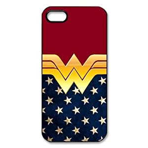 Hipster Wonder Woman Apple Iphone 5S/5 Case Cover American Flag