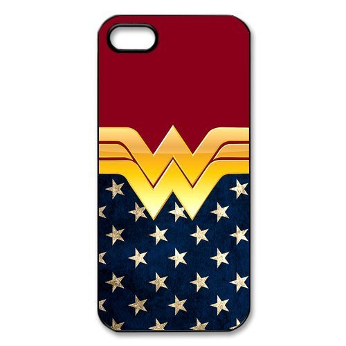 Making The Batman Costume (Hipster Wonder Woman Apple Iphone 5S/5 Case Cover American Flag)