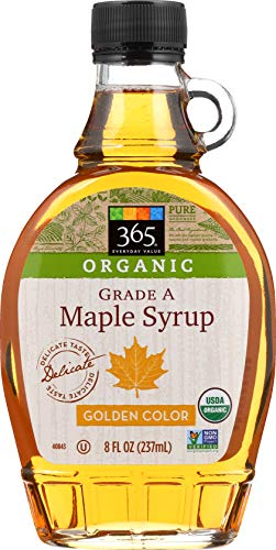 365 Everyday Value, Organic Grade A Maple Syrup, Golden Color, 8 fl oz
