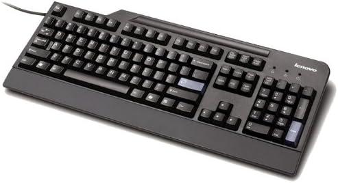 Lenovo 4X30E51034 - Teclado (Estándar, Alámbrico, USB, Negro)