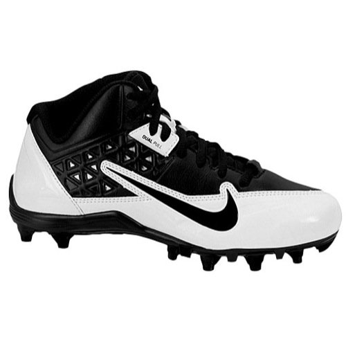 Boy's Nike 'Alpha Strike' Football Cleat Black/ White/ Black
