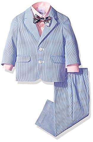 Nautica Baby Boys' Pincord Suit Set, Bright Blue, 18 Months