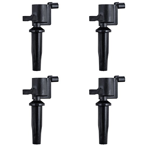 Pack of 4 Ignition Coils for Ford Mazda 2.0 2.3 DOHC fits FD-505 / DG-501 / DG-504 / DG-541 / DG-507 / FD505 / DG501 / DG504 / DG541 / DG507