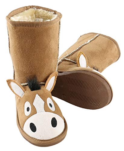 d01a7c064f5 Boot Cute Animal Character Slippers for Kids by LazyOne